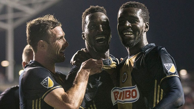 'Stars Were in Perfect Alignment' for Sapong, Union in First Win of Season