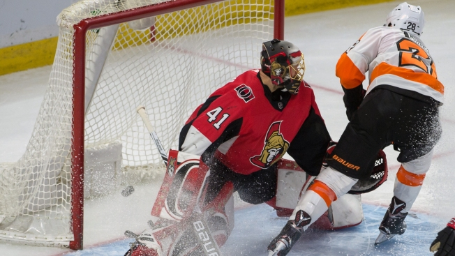Even the Bounces Are Going Flyers' Way