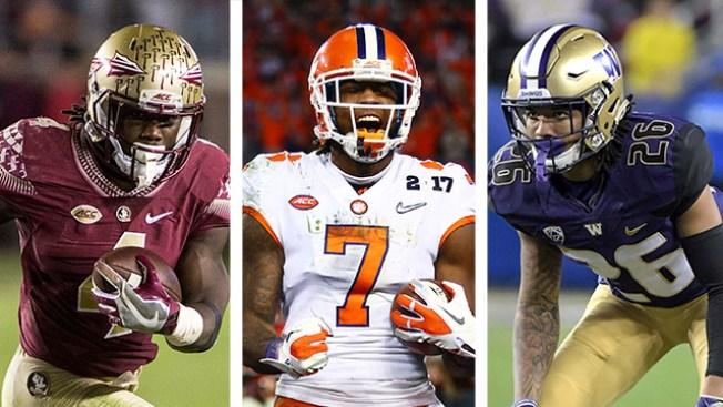 2017 NFL Mock Draft Roundup: Corner, Receiver Popular Picks