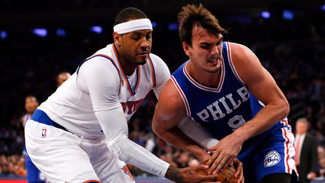Instant Replay: Knicks 110, Sixers 109