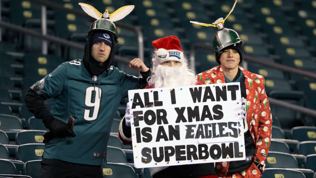 Eagles Fans Setting Eyes On The Super Bowl