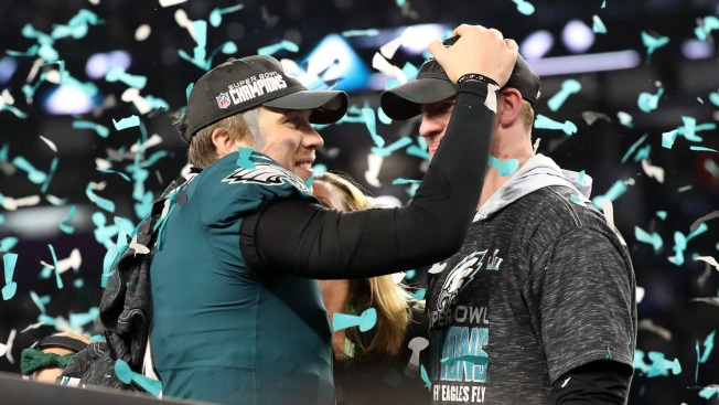 Nick Foles, Carson Wentz Will Forever Be Linked as Best Friends and Champions