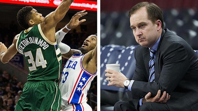 Hinkie's Old Boss Expected Giannis to Be a Sixer