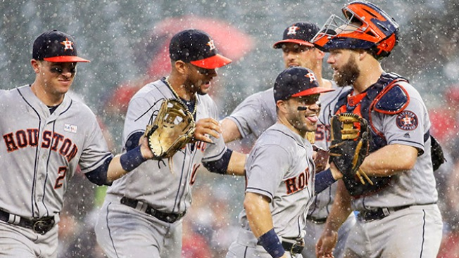 Best of MLB: Astros Sweep Rangers for 10th Straight Win