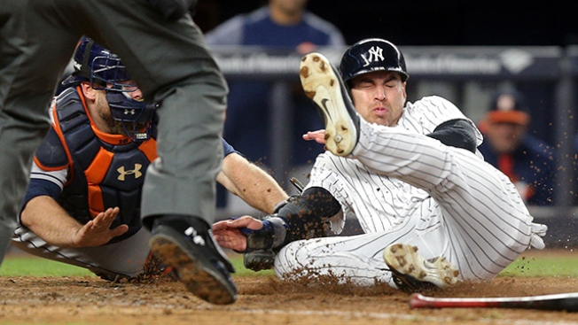 Best of MLB: Astros Throw Out Tying Run at Plate in Battle of Baseball's Best Vs. Yankees