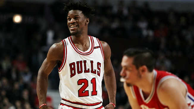 Stephen A. Smith: Bulls Pursued No. 3 Pick From Sixers for Jimmy Butler