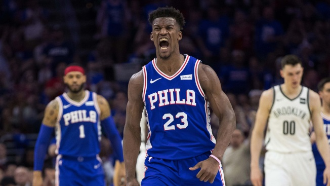 Jimmy Butler Lone Bright Spot of Sixers' Game 1 Loss to Nets