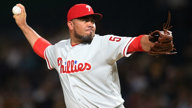 Phillies Place Joaquin Benoit (knee) on 10-day DL; Recall Adam Morgan