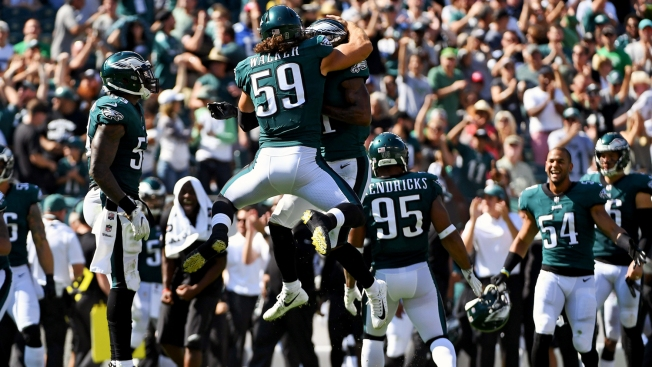 Banged-up Eagles' Defense Hurts Some More, But Depth Proves Crucial in Win Over Giants