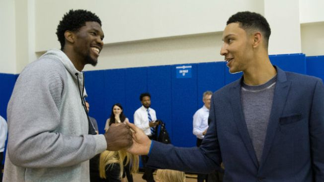 Philadelphia 76ers' Joel Embiid named starter on NBA All-Star team