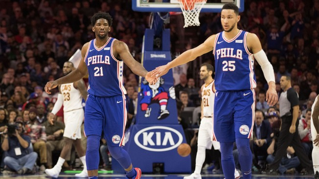 Young Sixers Are Rising and NBA Stars Are Taking Notice