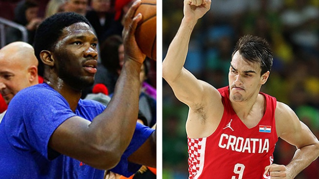 Joel Embiid, Dario Saric Ready for Long-awaited NBA Debuts