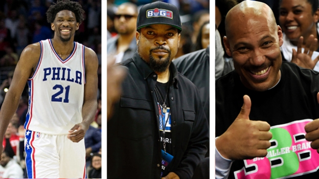 The New Tupac Vs. Biggie? Ice Cube Chimes in on Joel Embiid Vs. LaVar Ball Feud