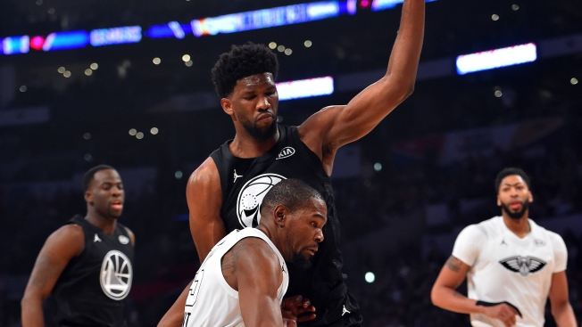 Our NBA All-Star Challenge - Describe Embiid in One Word