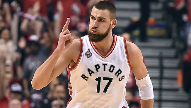 NBA Notes: Raptors' Valanciunas Out for Rest of East Semifinal