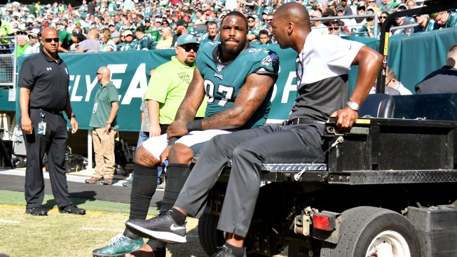 Eagles DT Malik Jackson Reportedly Out for Season With Lisfranc Injury