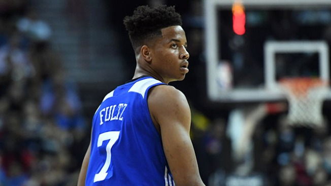 Sixers No. 1 overall pick Fultz injures left ankle