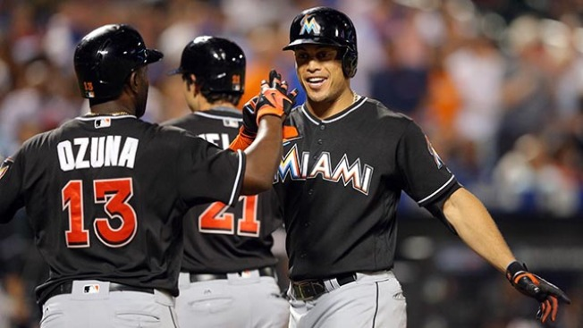 Best of MLB: Stanton, Marlins Snap Mets' 5-game Winning Streak