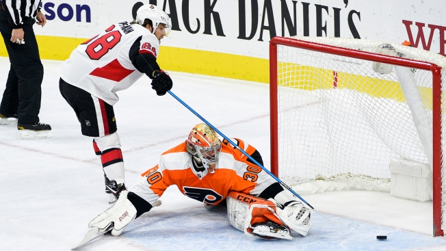 Flyers Finally Earn a Point ... But Let Another One Get Away