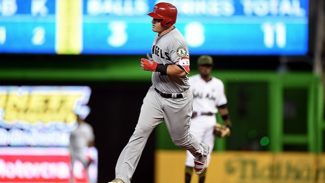 Best of MLB: Trout's 16th Home Run Guides Angels Past Marlins