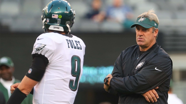 c27d023fa56 History Told Doug Pederson to Not Panic With Nick Foles - NBC 10 ...
