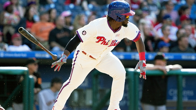 Odubel Herrera Willing to Risk Getting Drilled (and Maybe Injured) to Continue Flipping His Bat
