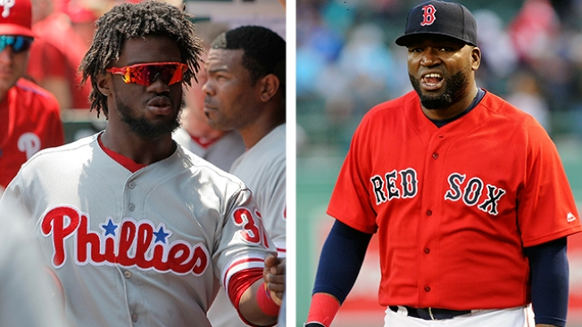 When Odubel Herrera Met Big Papi at Dinner in Philly, a Hitting Lesson Broke Out