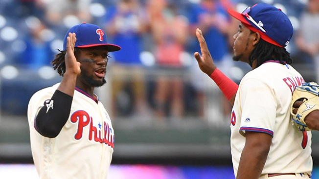 Odubel Herrera, Maikel Franco Finally Trending Up for Phillies in Series Win Vs. Giants