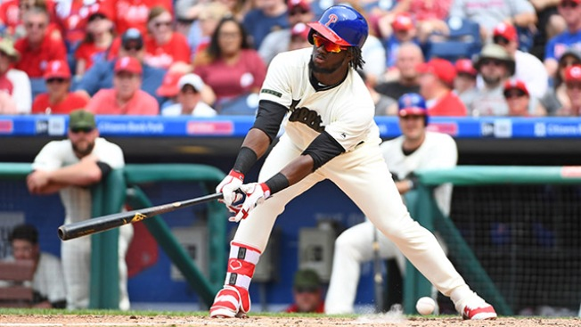 Dreadful May Lands Odubel Herrera on the Bench for a Couple of Days