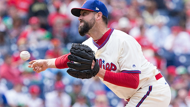 Happy to Be Out of Houston and With Phillies, Pat Neshek Expects to Be Traded at Some Point