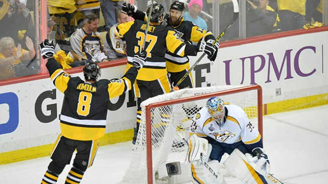 Stanley Cup Final: Penguins Come Alive Late in Third to Steal Game 1 Vs. Predators