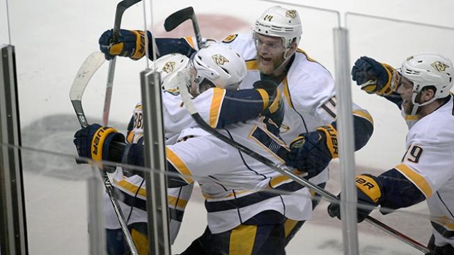NHL Playoffs: James Neal's OT Winner Puts Predators Past Ducks to Open West Final