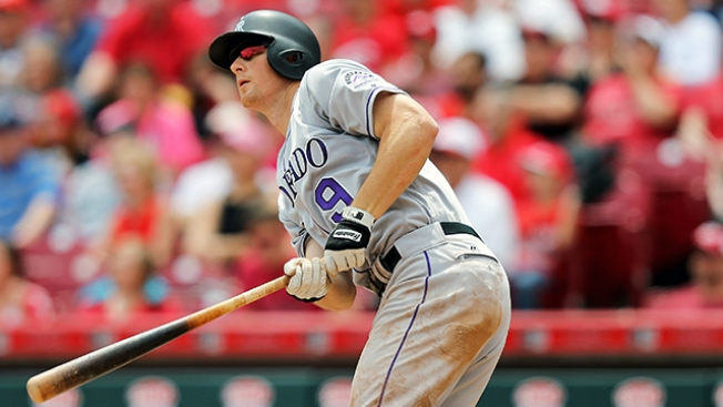 Rockies pitcher Kyle Freeland smashes home run against Reds