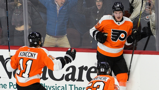 Kids Will Be Kids - and the Flyers Love It