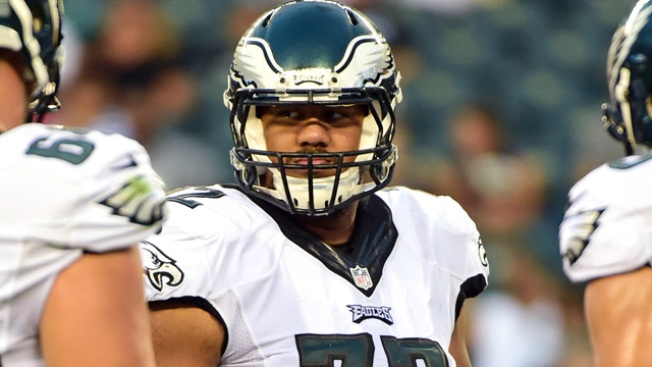 Jason Peters Had a Message for Vaitai as He Was Being Carted Off