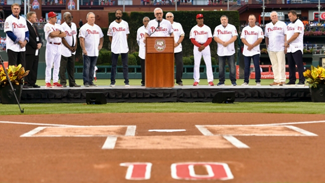 Dallas Green, Jim Bunning and Darren Daulton Remembered on Emotional Night in South Philly