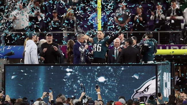 Eagles Players List Their Favorite Souvenirs From Super Bowl LII