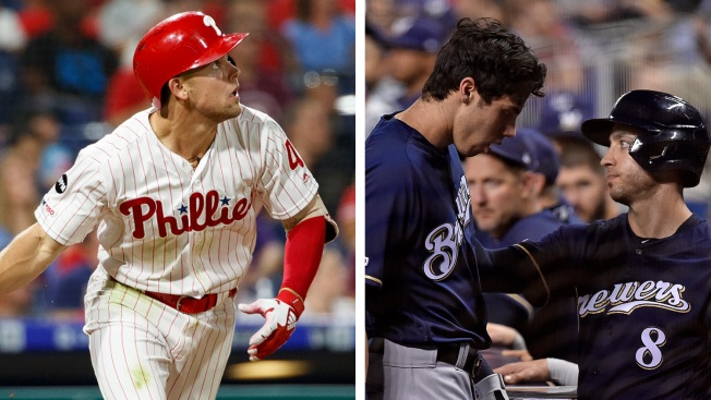 One Swing of the Bat Makes a Big Difference for Phillies and Foes in NL Wild-card Race
