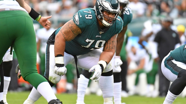 Barrett Brooks Breaks Down How Brandon Brooks Has Been So Dominant for Eagles