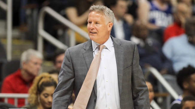 Brett Brown Gets 'Fiery' at Halftime, Sparks Sixers' Historic 3rd Quarter