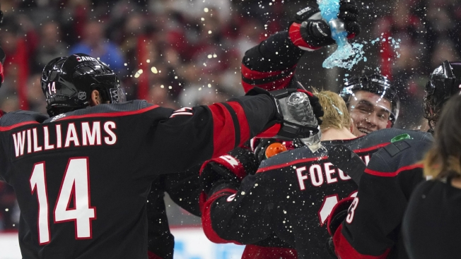 4e1455cd2166 Is the Carolina Hurricanes  Postgame Celebration Over the Top