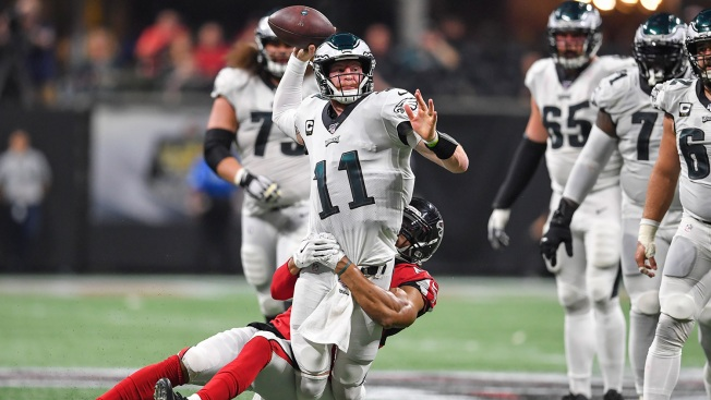 Bad Carson Wentz Then Good Carson Wentz Doesn't Cut It for Eagles