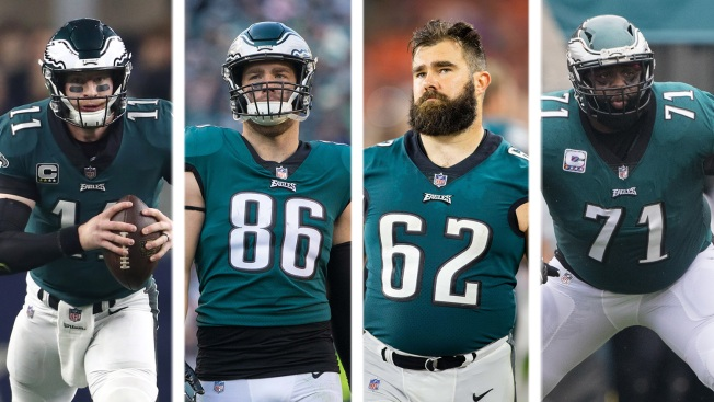 With 2019 NFL Draft on Horizon, Breaking Down Eagles' Roster by Draft Round
