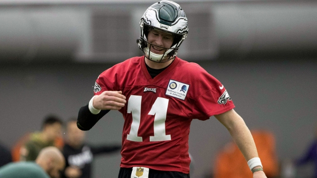 Eagle Eye: QB Reps If Carson Wentz Is Medically Cleared