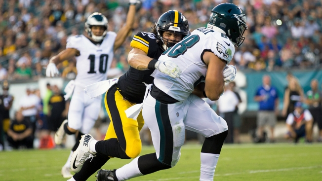 In His 1st Taste of NFL, Dallas Goedert Gives Eagles Plenty to Be Giddy Over