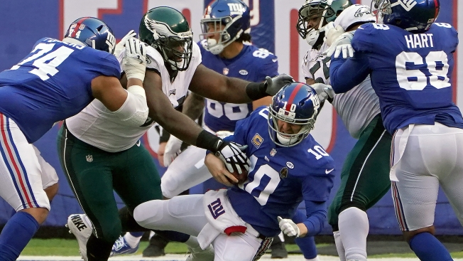 Eagles-Giants 2018: Start Time, TV Schedule, Live Stream and Storylines for NFL Week 6