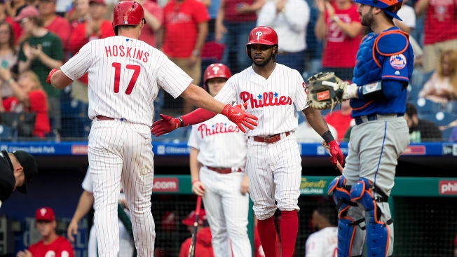 Rhys Hoskins Joins a Special Group With His 50th Career Home Run