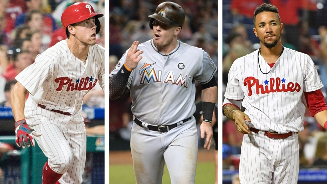 Who Goes to Triple A When Justin Bour Arrives - Scott Kingery, J.P. Crawford, a Reliever?