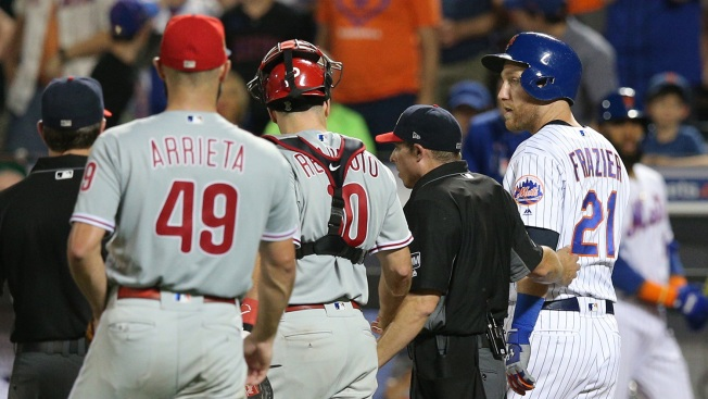 Jake Arrieta Could Face Discipline From MLB for Threat Against Todd Frazier