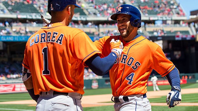 Best of MLB: Astros Pound Out 19 Hits, 17 Runs in Win Over Twins
